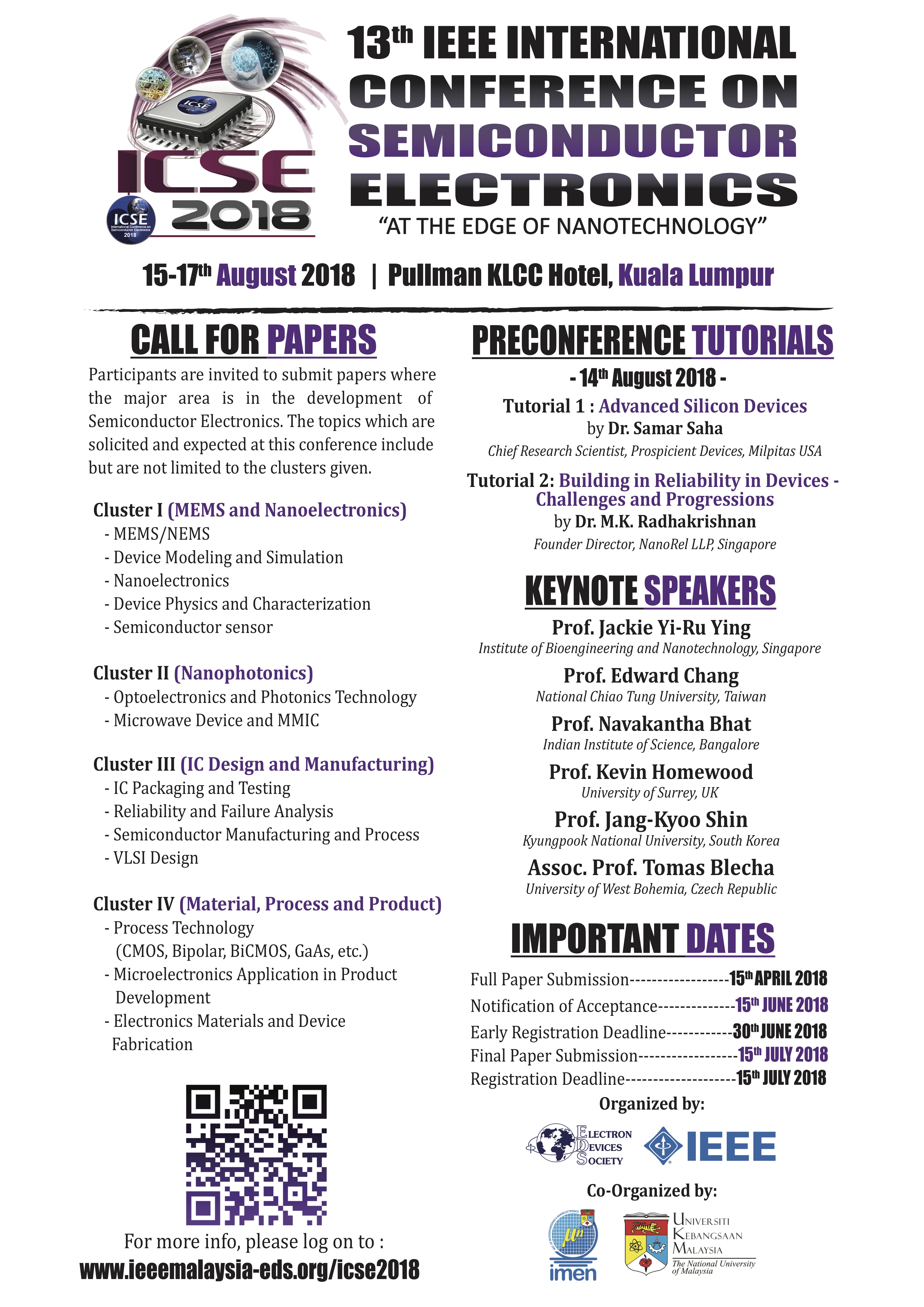 Call for Paper | 2018 IEEE ICSE